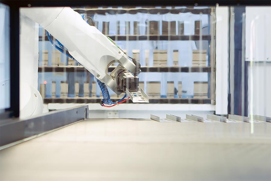 Procurement of a fully automated bending cell